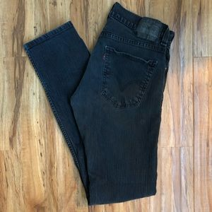LEVIS 511 31x32 Black Jeans